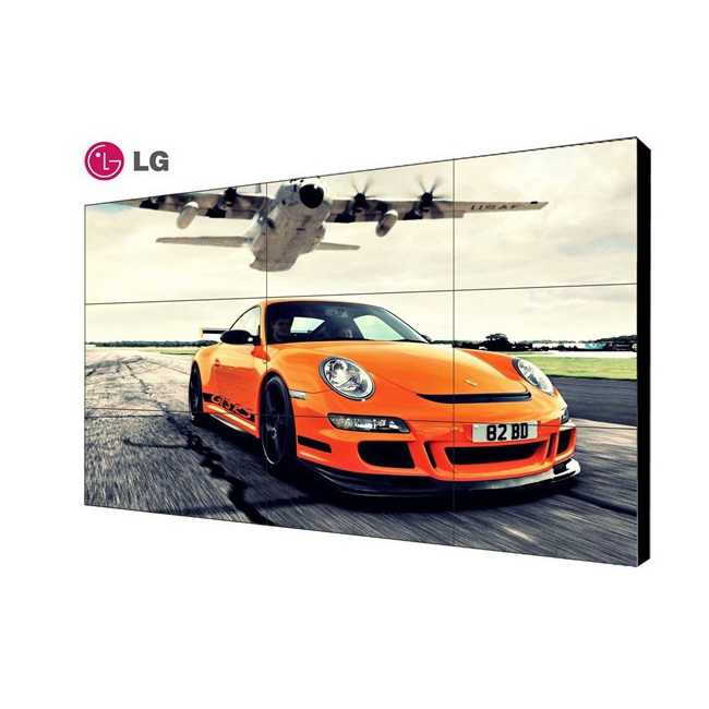 LG55寸 拼缝1.8mm液晶拼接屏