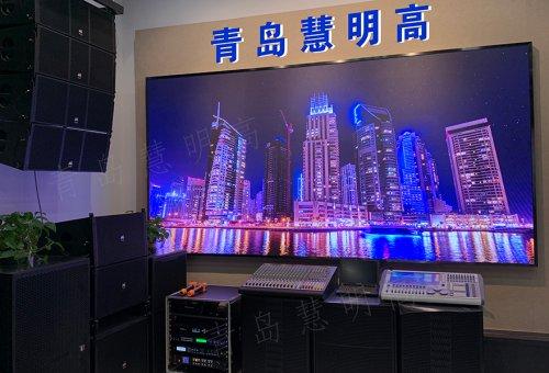青岛慧明高辽宁路百脑汇店LED全彩屏
